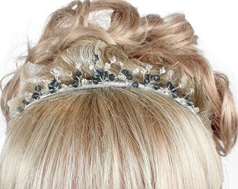 Wedding Tiaras, Crystal Tiaras, Bridal Tiaras, Coloured  Crystal Tiaras, Tiaras And Crowns, Coloured Tiaras, Tiaras For Brides, Weddings
