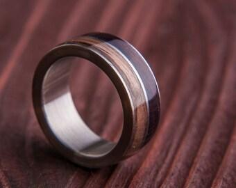 stainless steel ring titanium ring stainless steel wedding ring woman menu0027s stainless steel ring titanium wood