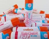 Lip Balm-All Natural Lip Balm-Creamsicle Lip Balm-Lip Gloss-Chapstick-Chapped Lips-Natural Chapstick-Handmade Lip Balm