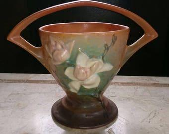 Sale! Roseville Magnolia Basket 384 ~ 8