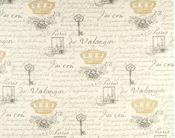 waverly Paris Clay Notebook curtain  valance 54 wide
