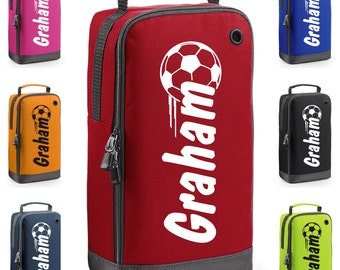Personalised Football Themed Boot Bag with Carry Handle  * Free Delivery *