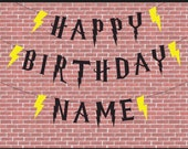 Harry Potter Inspired Happy Birthday Sign | Harry Potter | Harry Potter Birthday