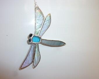 Stained Glass   Dragonfly suncatcher, とんぼのサンキャッチャー、