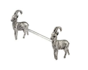 """Silver Stand for silverware """"Goat"""""""