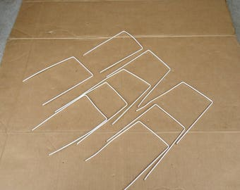 vintage Croquet wickets wires hoops set replacement,lawn game outdoor sport.9 total