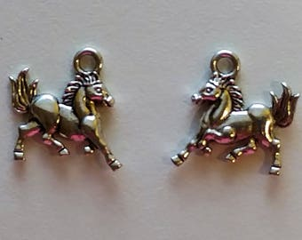 Galloping Horse Charms (2)