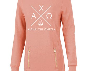 Alpha Chi Omega North Hampton Infinity Design Sweatshirt