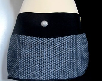 Short skirt / cotton M size Surjupe geometry
