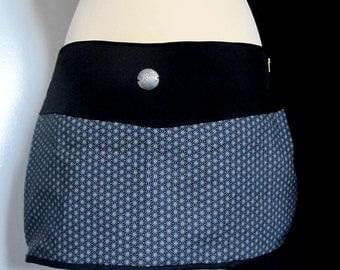 Short skirt / overskirt geometry cotton M size