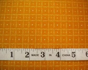 1 YD - Sampler 2 Cheddar Checkerboard by Windham Fabrics