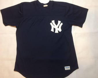 Vintage New York yankees jersey mens xl large 90s baseball jeter majestic brand