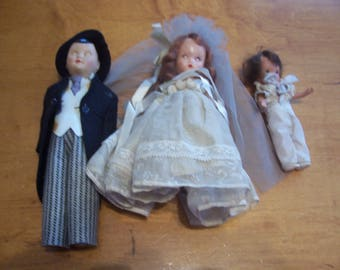 Nancy Ann Storybook Doll Bride and Groom