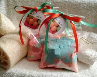 Melon Overload Bath Salts~Melon Bath Soak~Melon Aromatherapy Bath~Bath Salts~ Melon Fizzing Bath Powder~Bath Treatment~Bath Shimmer~