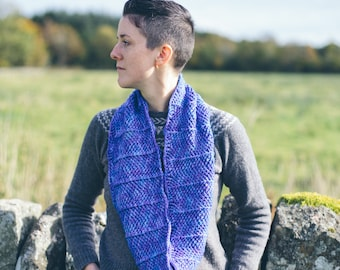 Selkie Cowl ~ PRINT COPY ~ Simple Crochet Cowl Pattern