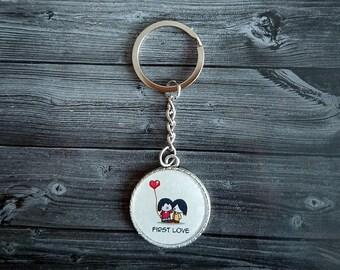 Love cute key chain
