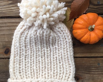 The Stassie || The Ribbed Slouchy Beanie