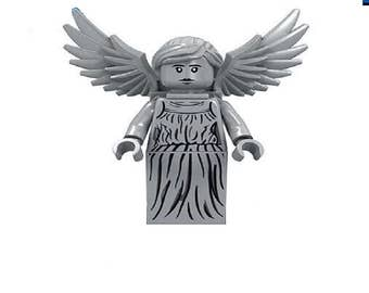 DR Who the Weeping Angel Custom Minifigure 100% Lego Compatible! Image Comics/AMC