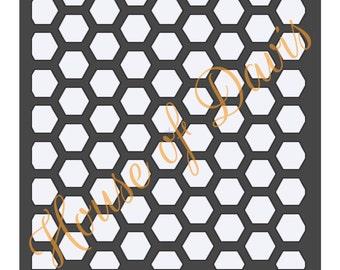 Honeycomb Stencil - 12x12