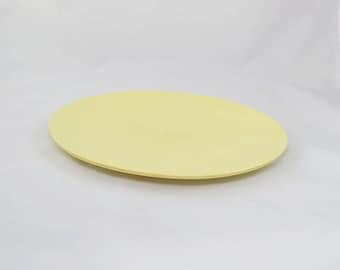 Vintage Yellow Boontonware Melmac Serving Tray Or Platter