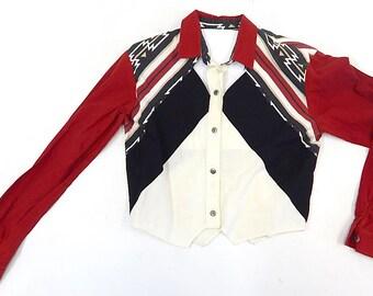 Southern Texas Rodeo Women's Medium Vintage Top