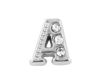 Alphabet Letter Initial A Floating Charms