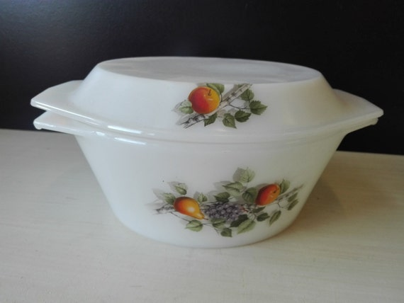 Arcopal casserole, Fruits de france, 24 centimeter