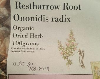 Dried organic Restharrow root