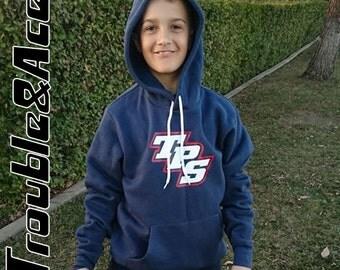 Temecula Preparatory Patriots TPS Spirit Wear T-Prep Spiritwear Sweatshirt Red White Navy Blue Unisex Sweatshirt Youth and Adult Sizes