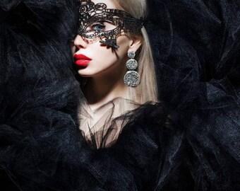 Lace Mask, masquerade mask, Free Shipping