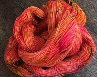 Tigerlilly BFL High Twist Sock Yarn, 2 ply, 80/20 Superwash BFL and Nylon