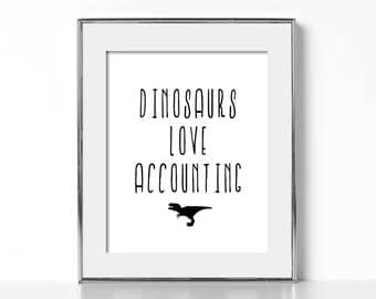 Accountant Gift Accounting Gifts Digital Download