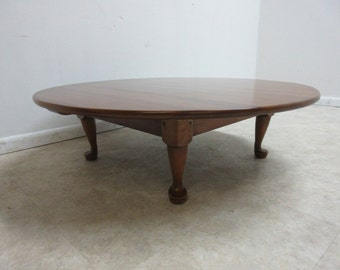 Stickley Cherry Valley Round Tradition Coffee Center Table