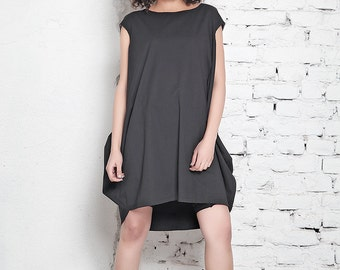 Little Black Dress / Black Mini Dress / Plus Size Dress / Casual Black Dress / Oversize Black Dress / Party Dress / Club Dress / Mini Dress