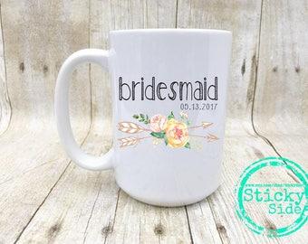 Bridesmaid Gift | Wedding Party Gift | Bridal Party Gift | Bridal Party Mug | Bridesmaid Mug | Gift From Bride | Bridal Party | Bridesmaid