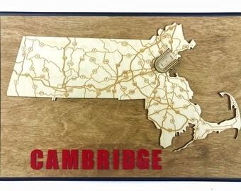 Stadium State Shape - Massachusetts, Cambridge (Harvard Stadium)