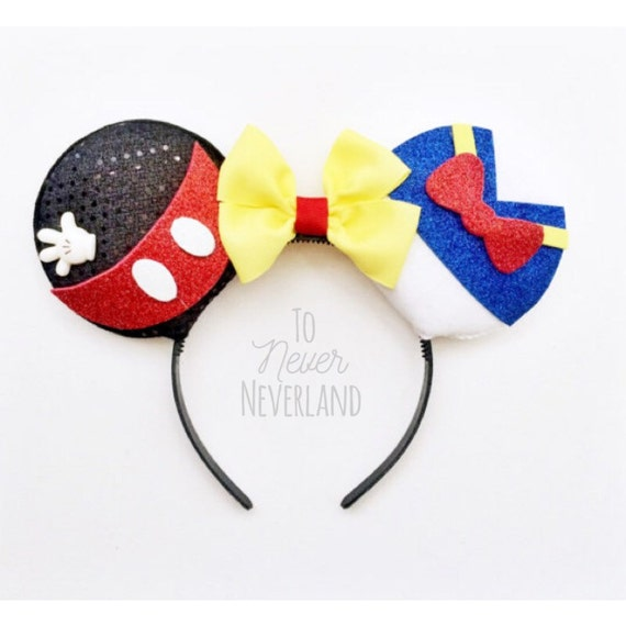 mickey and donald ears mickey mouse ears donald duck ears