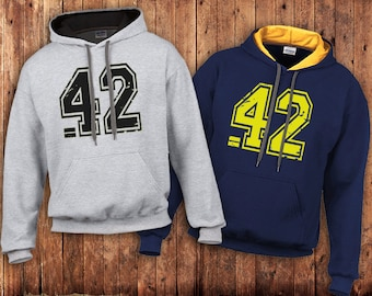 42 the answer Hoody, Hitchhikers guide to the Galaxy, Douglas Adams