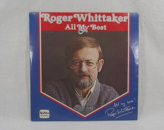 Roger Whittaker All My Best Vinyl Double LP Record Album Set TeeVee Records DVL2-0240