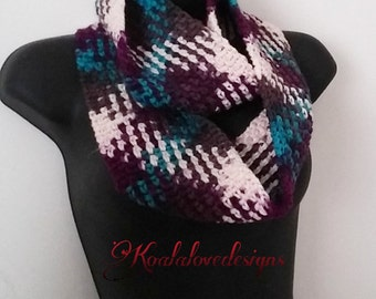 Color pooled Scarf, Crochet Pattern only, crochet, pattern