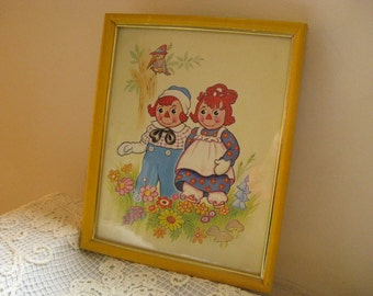 Raggedy Ann and Andy Lito Art Prints 1973