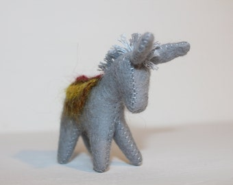 Little Donkey //Gift from Tooth Fairy //Waldorf Toy //Miniature