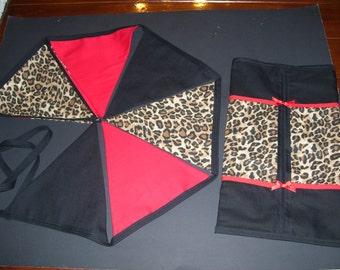 LEOPARD BUNTING SETS - leopard decorations - leopard home decor - leopard bunting - leopard garland - leopard kleenex box - leopard decor