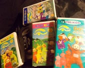 Large Lot of Teletubbies VHS Teletubbies Movies PBS kids Teletubbies