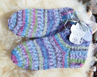 warm winter socks , home slippers , wool slippers , hand knit slippers , knitted slippers , hand knitted socks , light blue socks