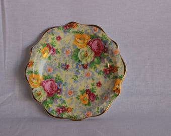 Royal Albert Chintz Floral Dish