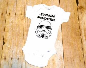 Storm pooper onesie