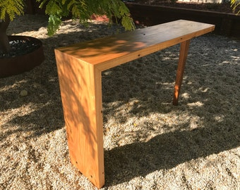 Reclaimed Messmate Hall table