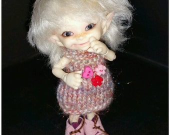 Dress for Realpuki size bjd dolls