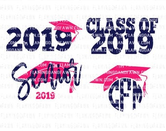 graduation svg, 2019 graduation svg, 2019 svg, graduating svg, svg graduation, graduation monogram svg, class of 2019 svg, senior svg